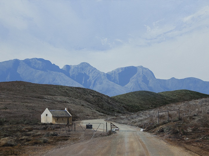 South African realismImage entitled 'Into The Swartberg'