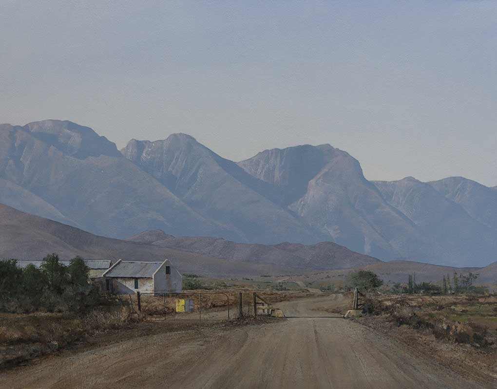 Artist of  South Africa Image entitled 'The Long Road To Robertson'