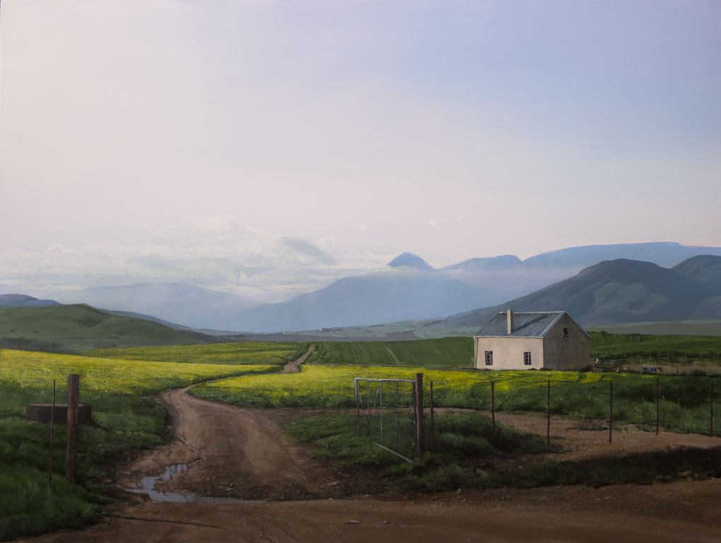 South African Artist -Peter Bonney title Caledon Canolas