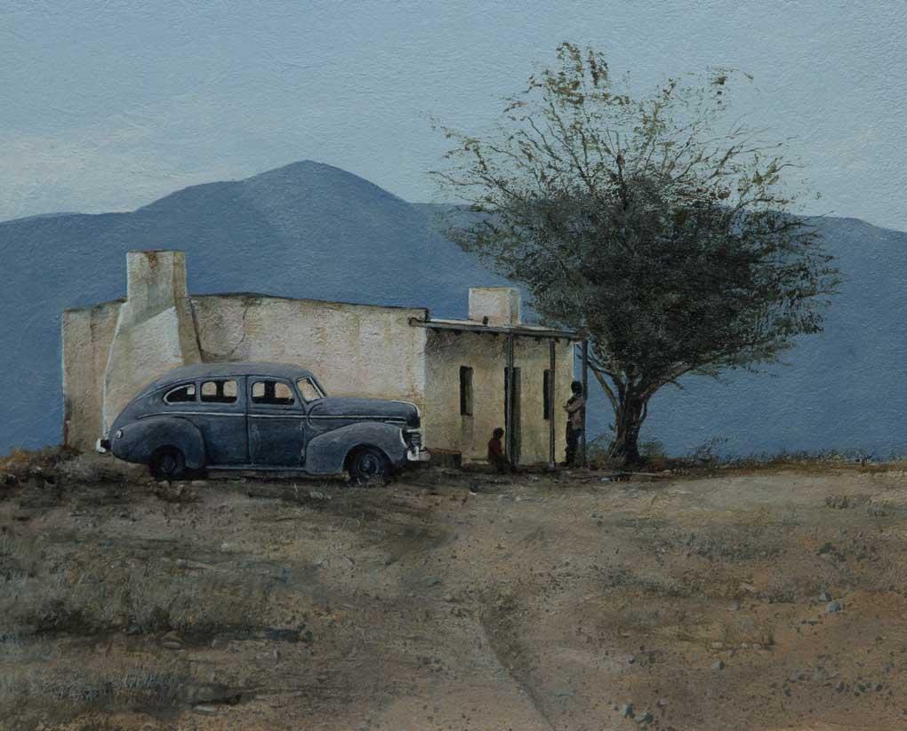 Peter Bonney Landscape Artist Gerald Seeger 2