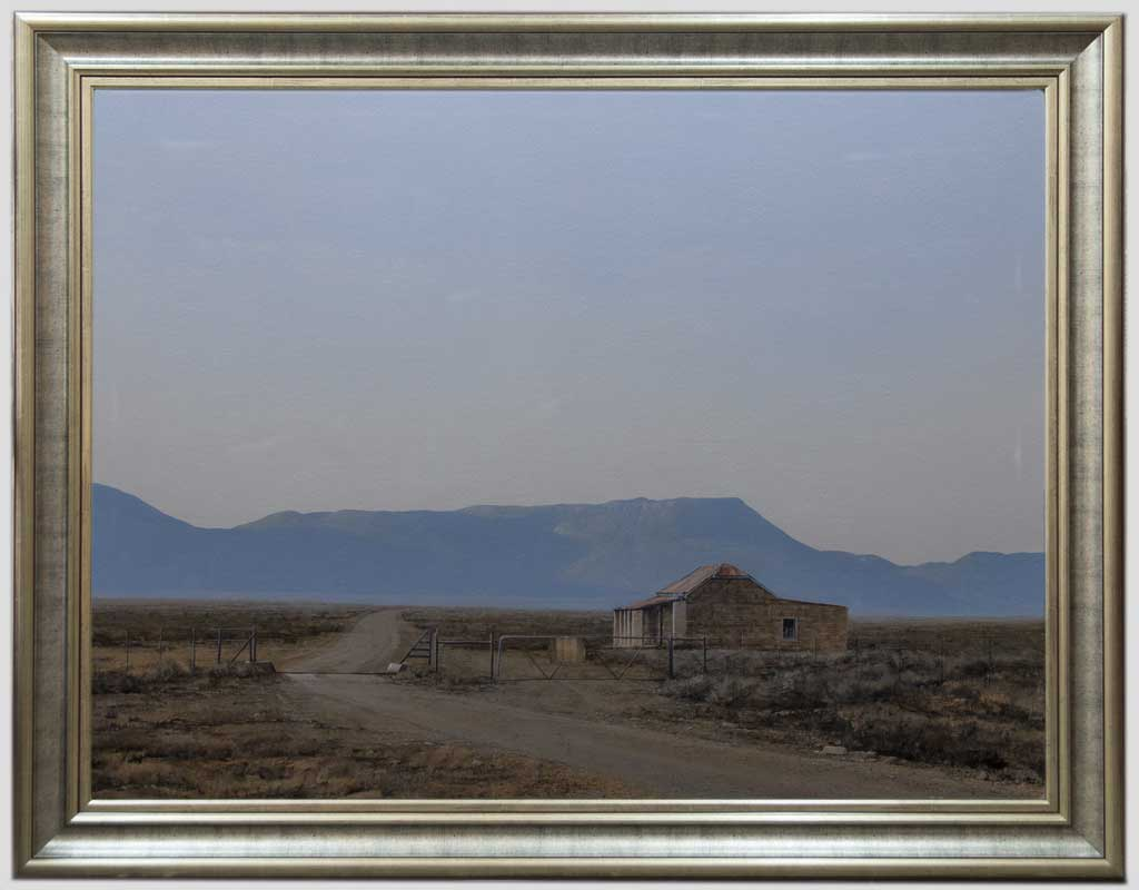 South African art Karoo Landscape
