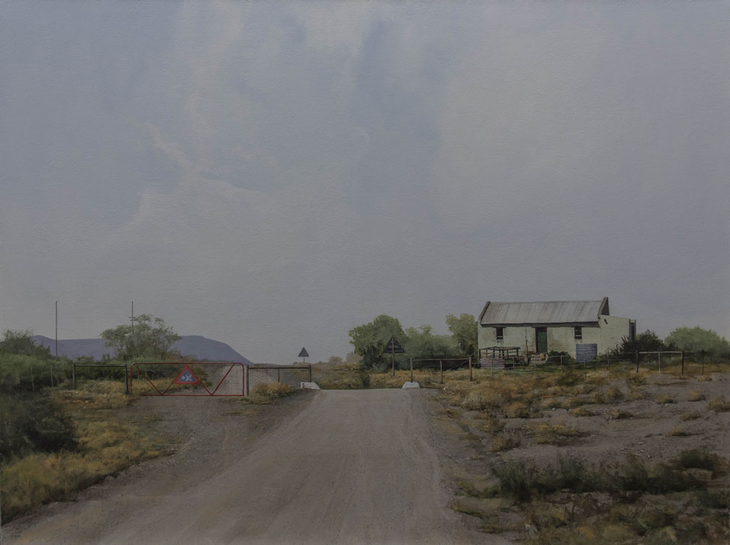 Peter Bonney Artist|South African Artist|South African Realism|Title Over The Hill And Far Away